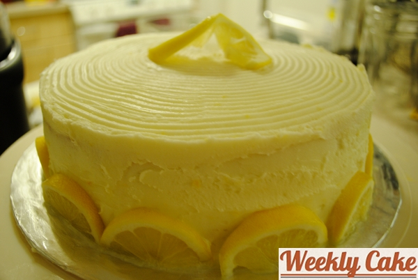 week 3 lemon buttercream cake weekly cake week 3 lemon