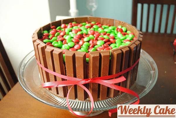 Week 43 Eggnog Basket Of Candies Cake Weekly Cake Week 43 Eggnog